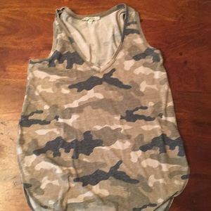 Express camouflage tank top. Size small.